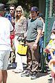 heidi klum mark wahlberg meet up on the soccer field 07