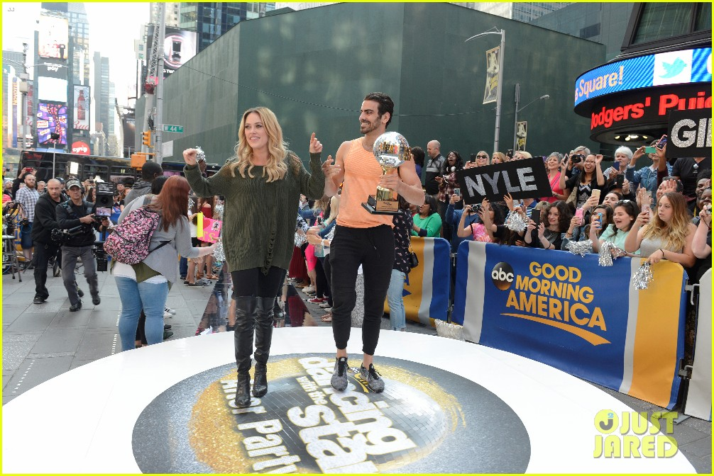 nyle dimarco dancing with the stars champion good morning america 073665989