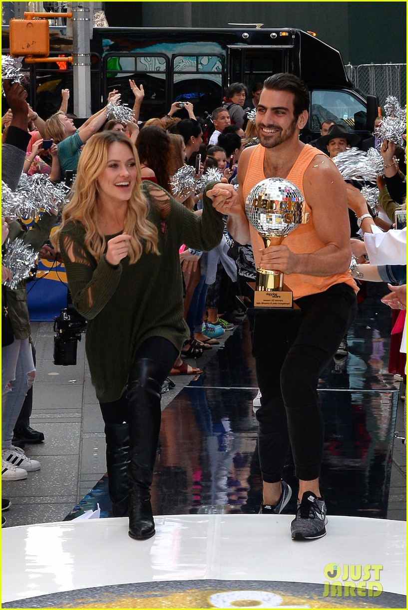 nyle dimarco dancing with the stars champion good morning america 163665998
