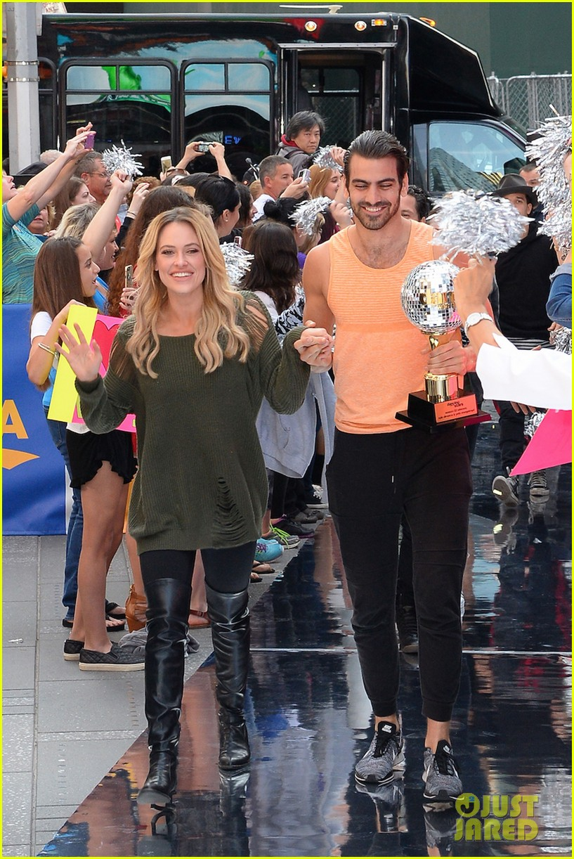 nyle dimarco dancing with the stars champion good morning america 213666003