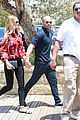 rosie huntington whiteley jason statham hold hands malibu 08