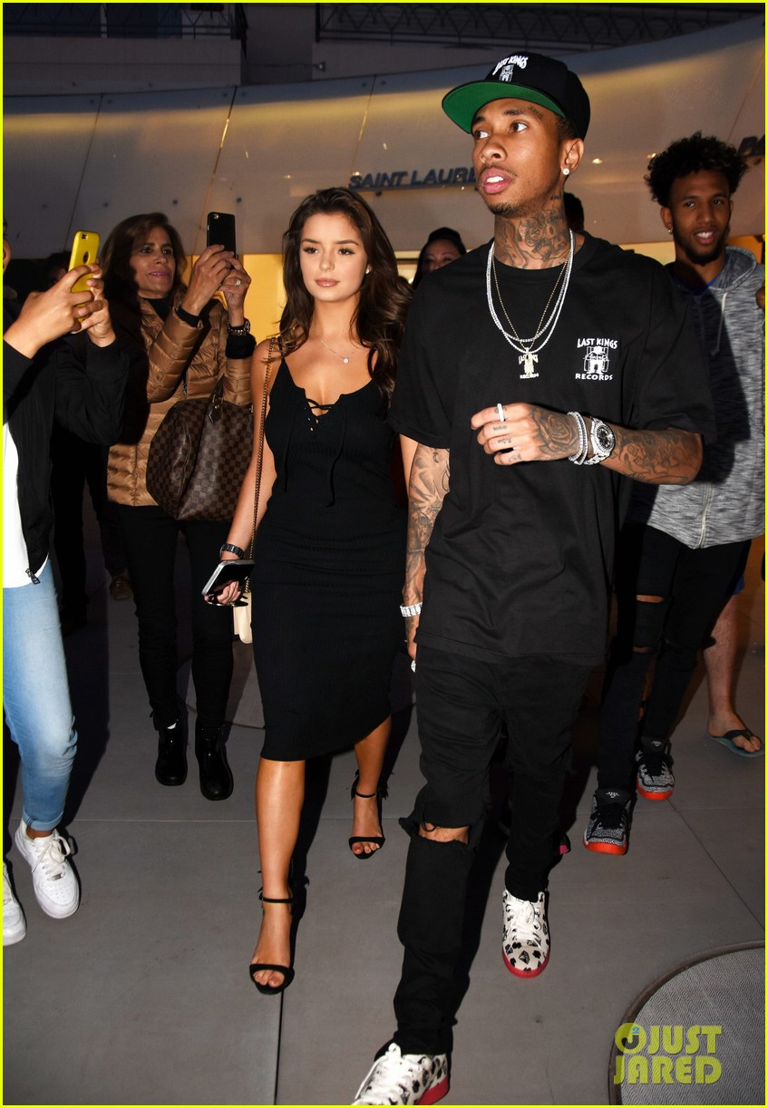 Tyga Girlfriend 2017