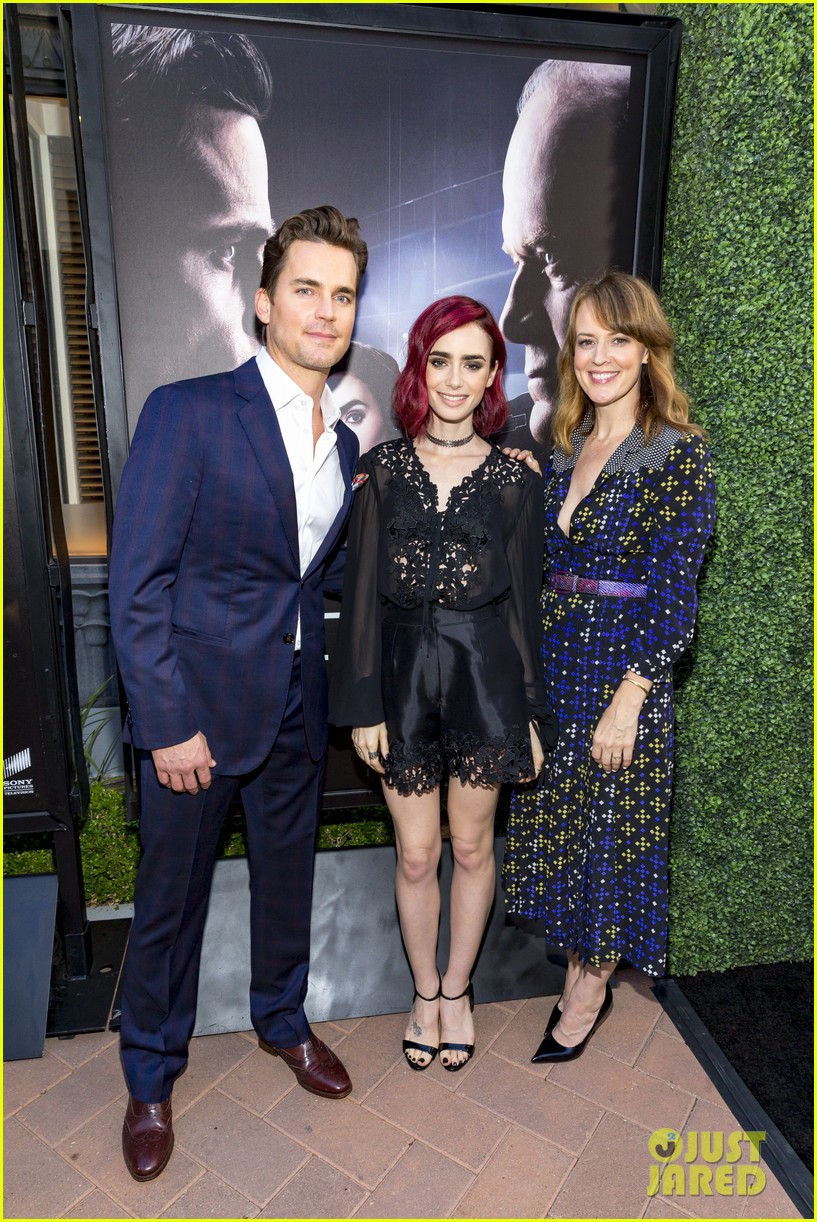 matt bomer lily collins celebrate the last tycoon pilot release 033694637