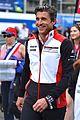 patrick dempsey jason statham cheer on racers at le mans 29