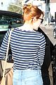 emma stone dyes hair red 24