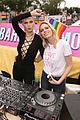erin sara foster ride a bus in la pride parade 08