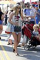 Elizabeth olsen goes boho chic at farmers market 08