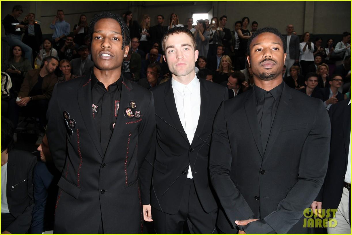 Robert Pattinson & Michael B. Jordan Suit Up for Dior Homme Fashion Show in Paris!: Photo ...