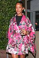 rihanna wears floral kimono for dinner at her favorite spot 03