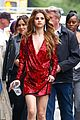 selena gomez frollicks through fountains with young fans 44