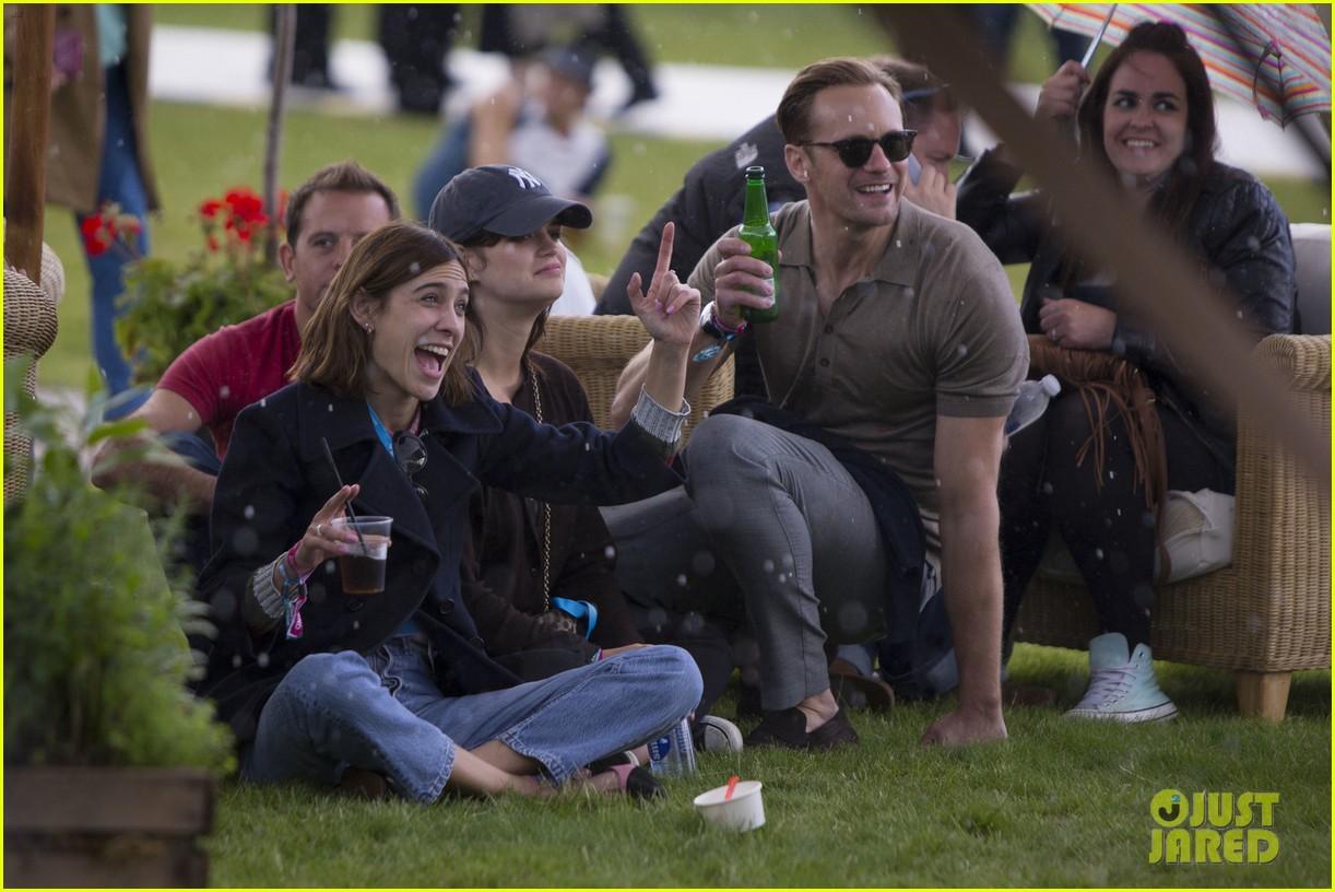 Alexander Skarsgard & Alexa Chung Couple Up for Florence + the Machine ...
