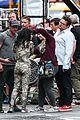 sofia boutella films the mummy in full costume makeup 20