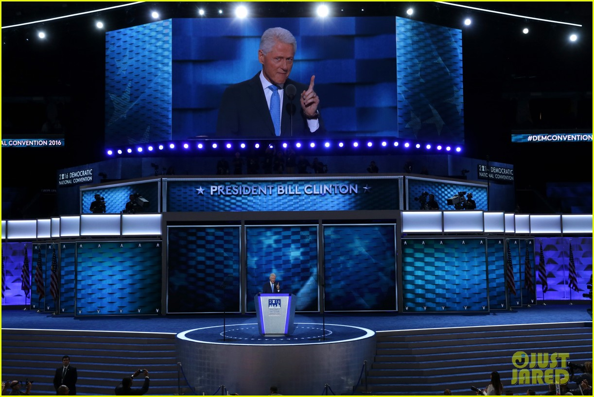 comments on bill clintons speech at democratic national convention essay These are the prepared remarks of the speech president bill clinton gave at the  democratic national convention.