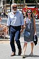 harrison ford calista flockhard take romantic stroll in barcelona 17