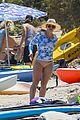 hilary duff enjoys a beach day with the fam 19