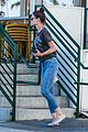 katie holmes wears a metallica shirt for casual friday outing 22