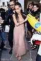 zoe kravitz milla jovovich hit up valentino fashion show in style 19