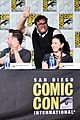 katharine mcphee goes to comic con brings dog wilma 20