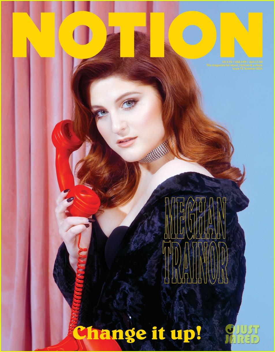 meghan trainor notion magazine issue 73 cover pics 013701440