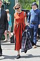 sienna miller orange beauty wimbledon 06