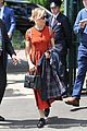 sienna miller orange beauty wimbledon 07