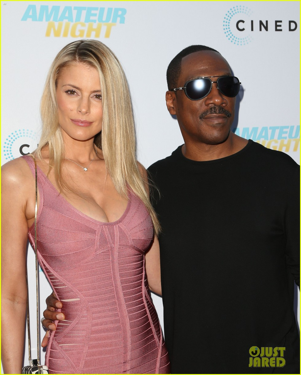 eddie murphy and nicole mitchell relationship