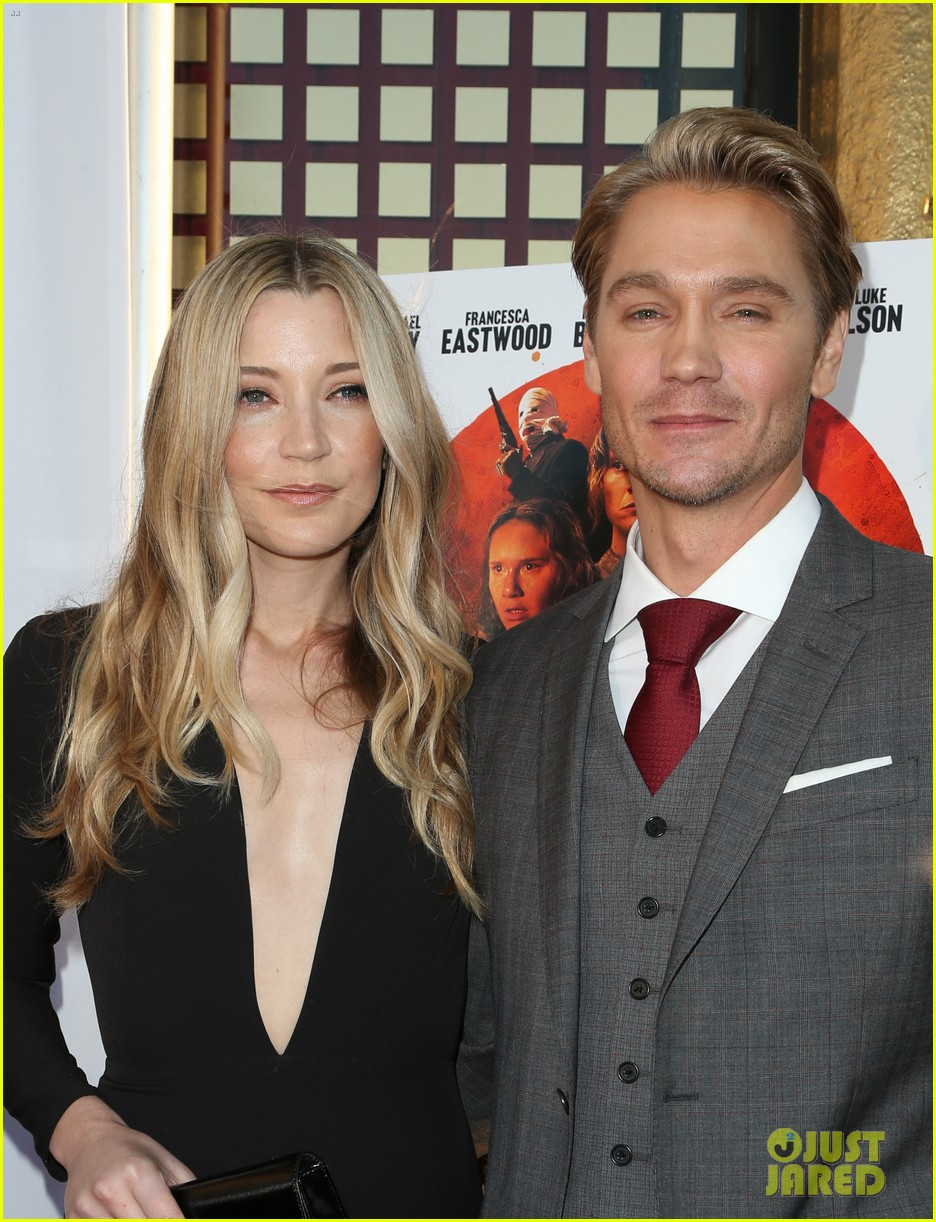 chad michael murray gets support from awesome wife sarah roemer at outlaws angels 193705257