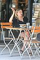 elizabeth olsen chats it up on her lunch date 10