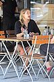 elizabeth olsen chats it up on her lunch date 12
