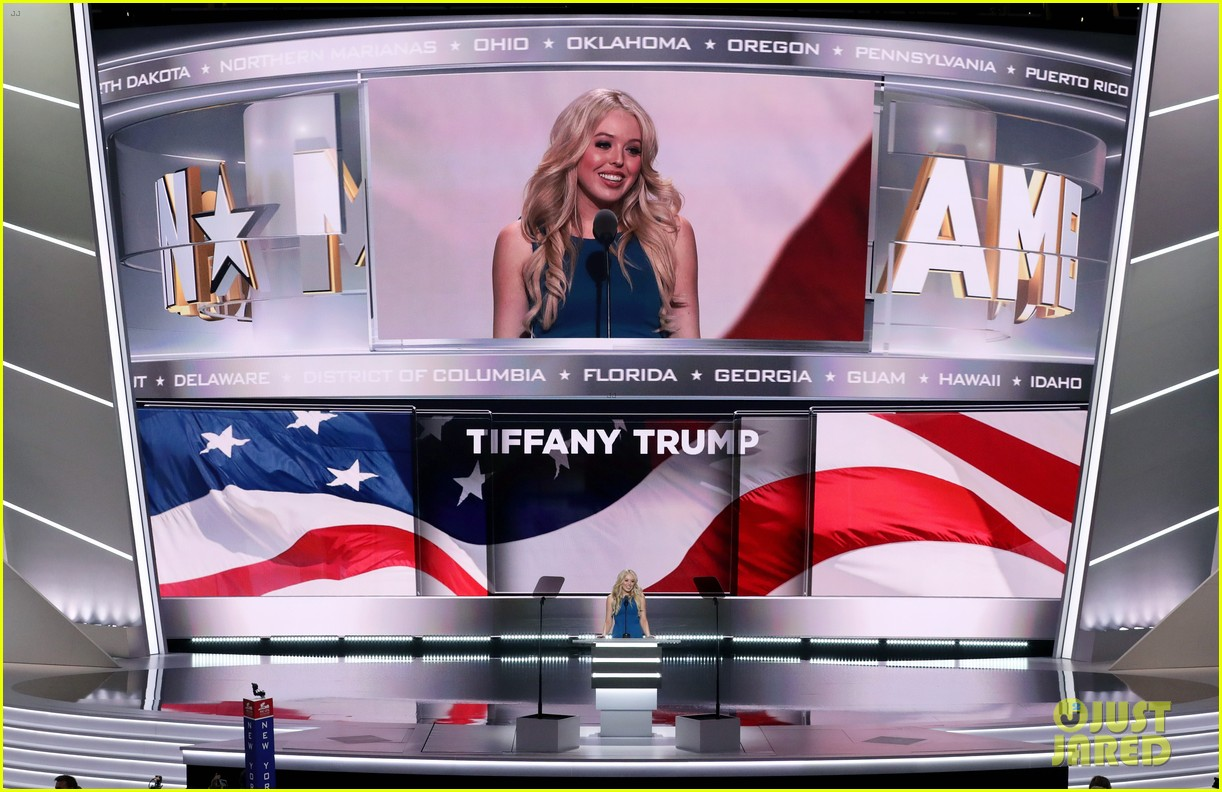 tiffany trump gives speech at republican national convention 113711115