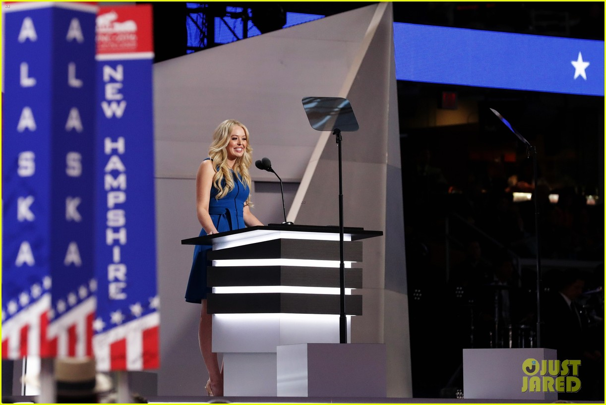 tiffany trump gives speech at republican national convention 143711118