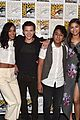 zendaya tom holland spiderman cast comic con 08
