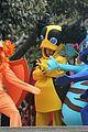 adam levine maroon 5 shoot music video monster costumes 03