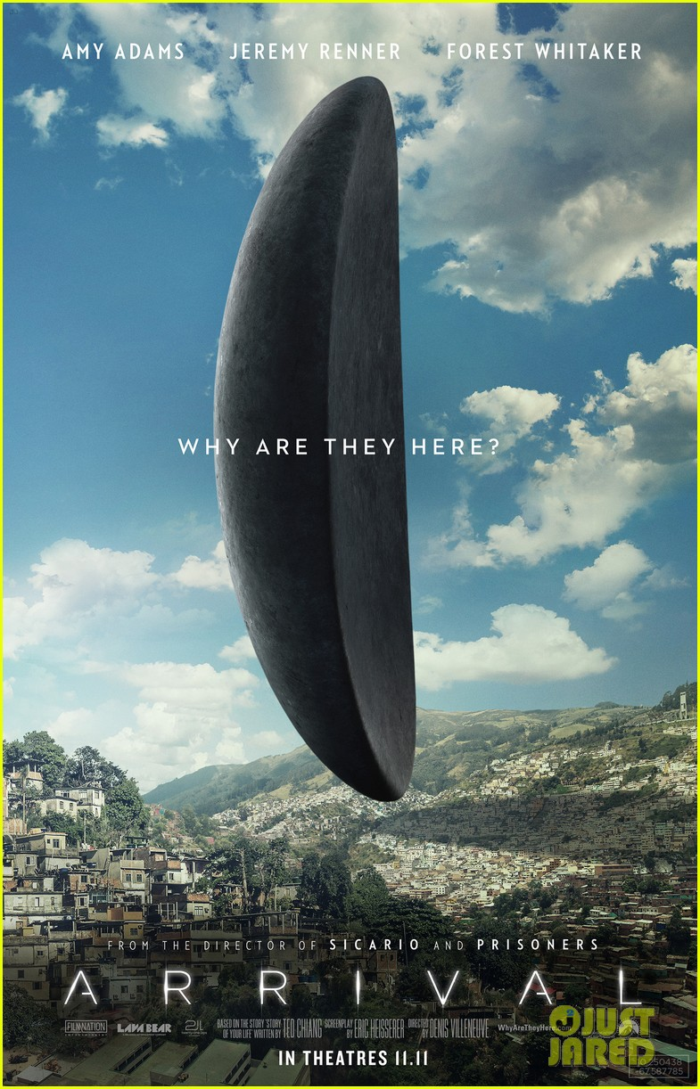 Amy Adams Stars in 'Arrival' Full Trailer - Watch Now!: Photo 3735133   Amy Adams, Jeremy Renner, Movies, Trailer Pictures   Just Jared