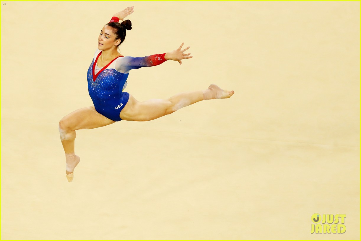 Elegant Watch Simone Biles U0026 Aly Raismanu0027s Floor Routines For Olympic Finals!  (Video)