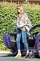 caitlyn jenner purple porsche woodland hills 04