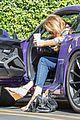 caitlyn jenner purple porsche woodland hills 06