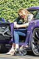 caitlyn jenner purple porsche woodland hills 08