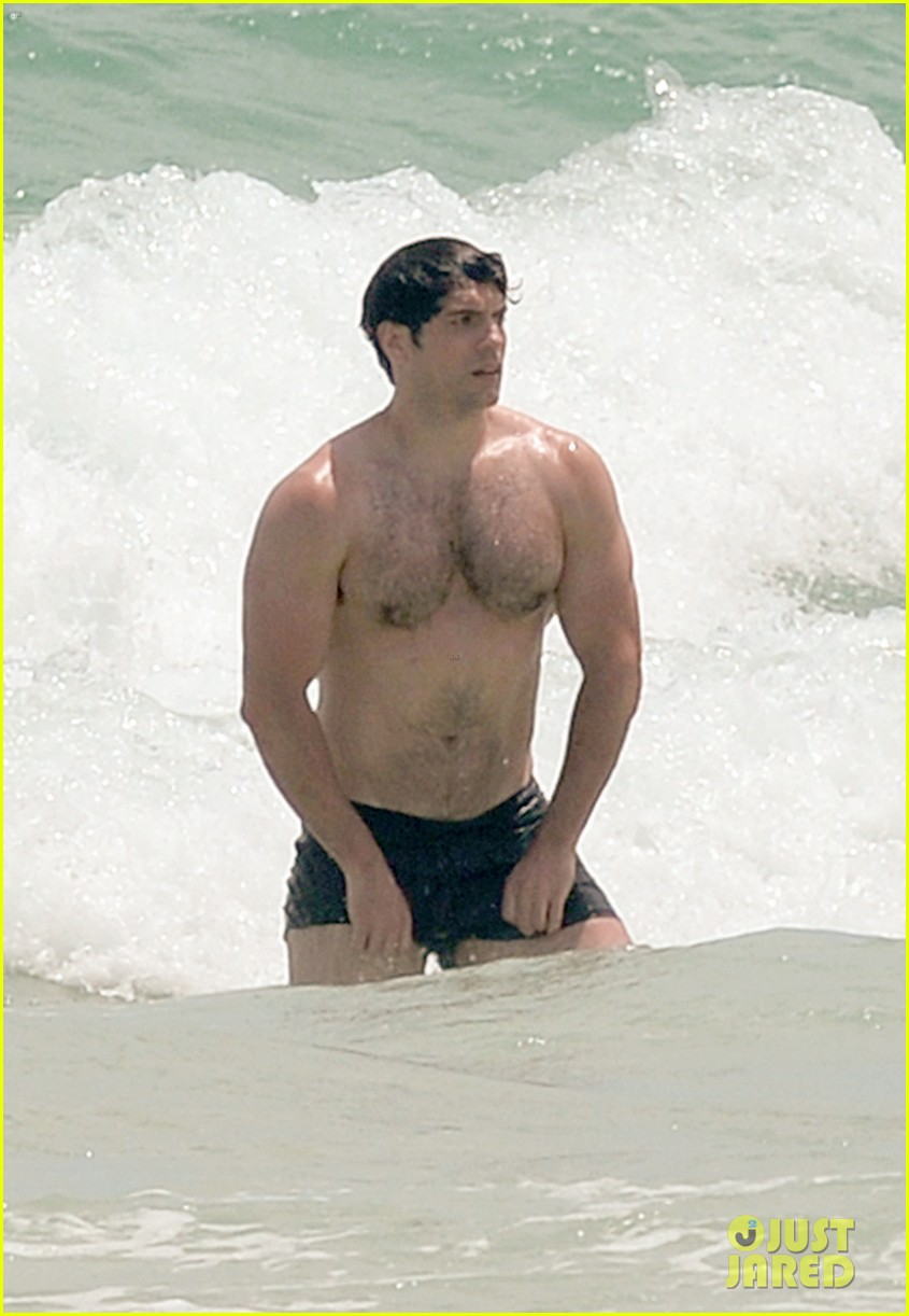 actor naked on the beach