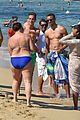 stephen curry goes shirtless for beach vacation with ayesha 29