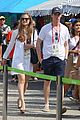 eddie redmayne wife hannah rio beach volleyball 17