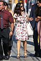 salma hayek gets ready for her jimmy kimmel live appearance 04