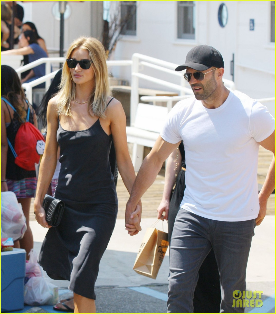 Rosie Huntington-Whiteley & Jason Statham Go Out for ...