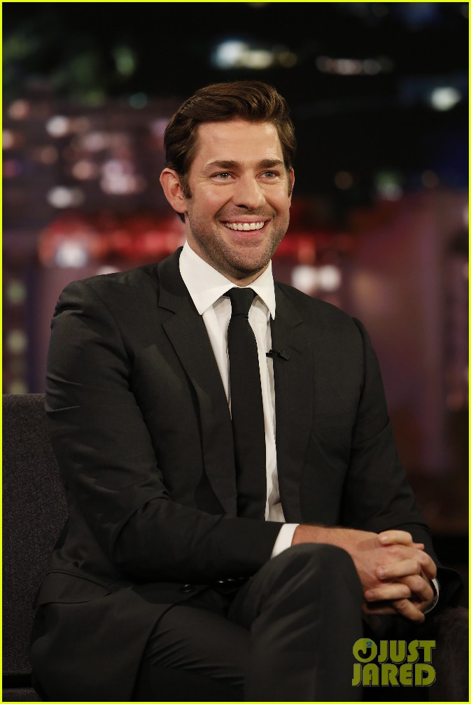john krasinski lost a bet amp now cooks for emily blunt once