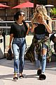 kourtney khloe kardashian ride a merry go round together 23