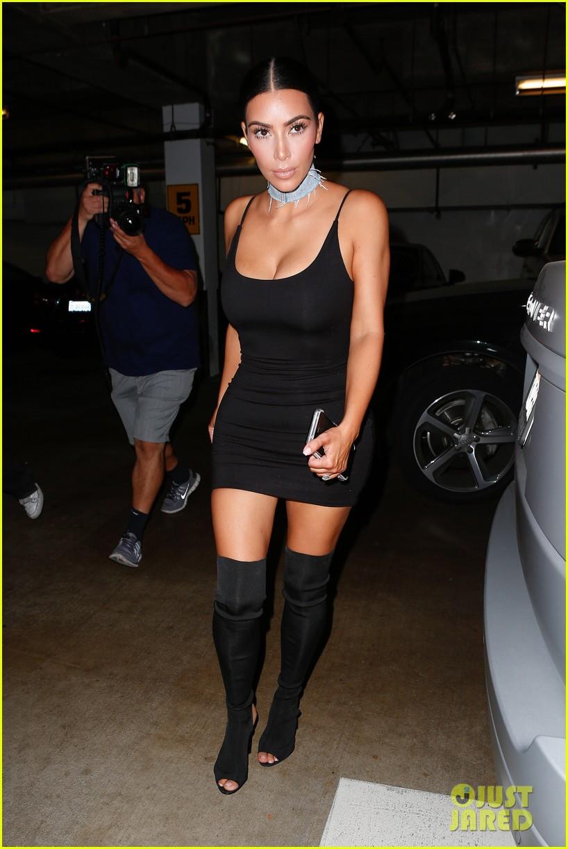 Dress black kim kardashian - Kim Kardashian Posts Cute Message For Kylie Jenner S Birthday Photo 3730761 Kim Kardashian Kylie Jenner Pictures Just Jared