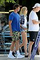 patrick schwarzenegger abby champion lunch wkout lochtegate throwback 04