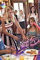 busy philipps hosts baby2baby back to school event with daughter birdie 15