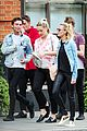 margot robbie hangs with amber heard after divorce settlement 06