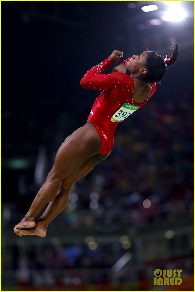 olympic biles height
